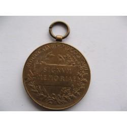 Stříbrná medaile T.G. Masaryka