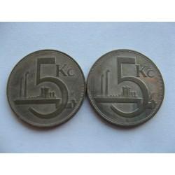 varianty 5 KORUNA 1928,...