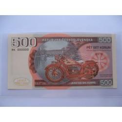 Anulát 500 korun...