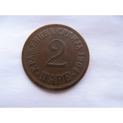 2 para 1904 Srbsko