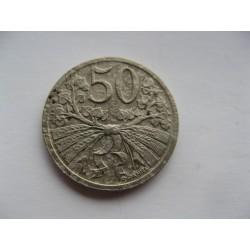 50 haléř 1925 R
