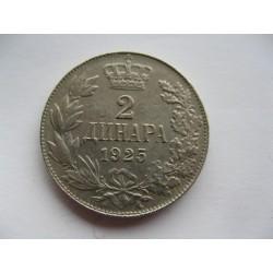 2 Dinar 1925