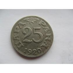 25 PARA 1920