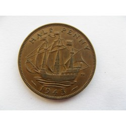 half penny 1943